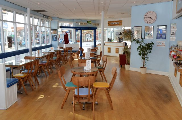 The Hub coffee bar, Sheringham Little Theatre