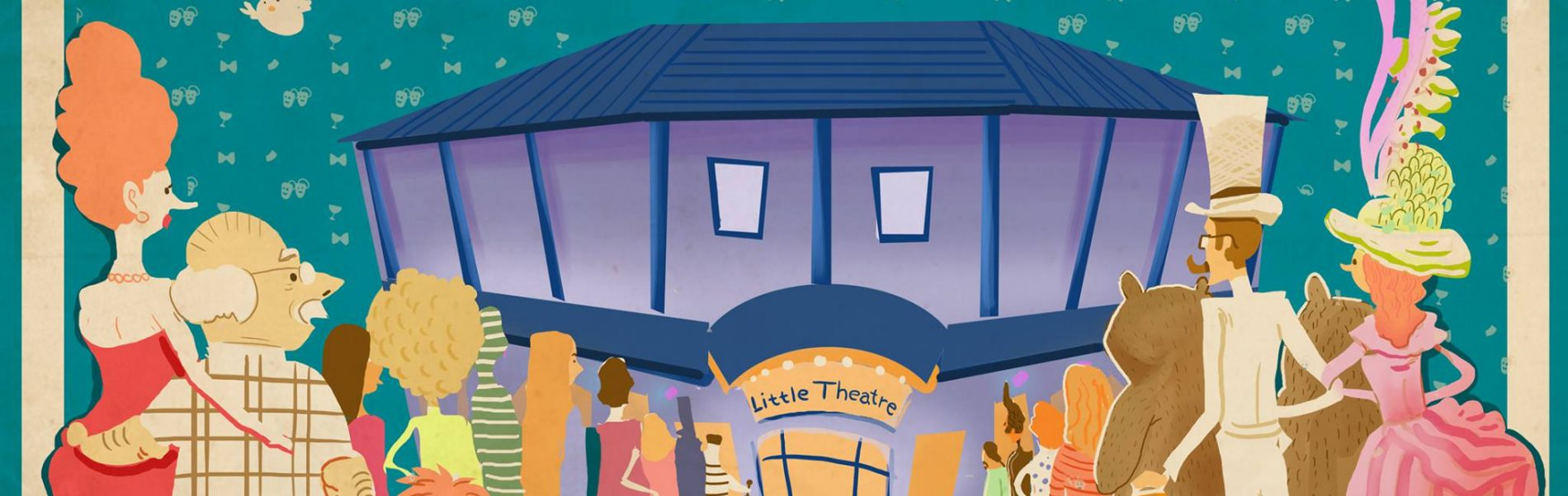 Sheringham Little Theatre cartoon image