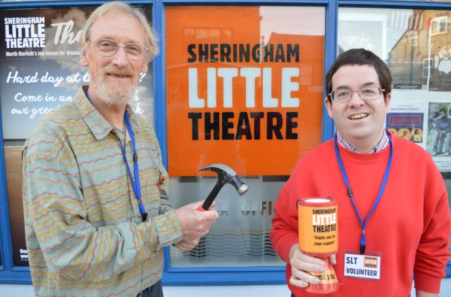 Sheringham Little Theatre volunteers