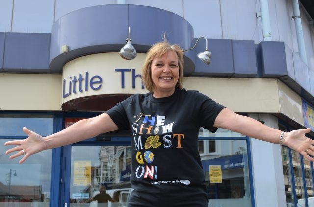 Sheringham Little Theatre director who is appealing for public donations to help it through the coronavirus crisis.